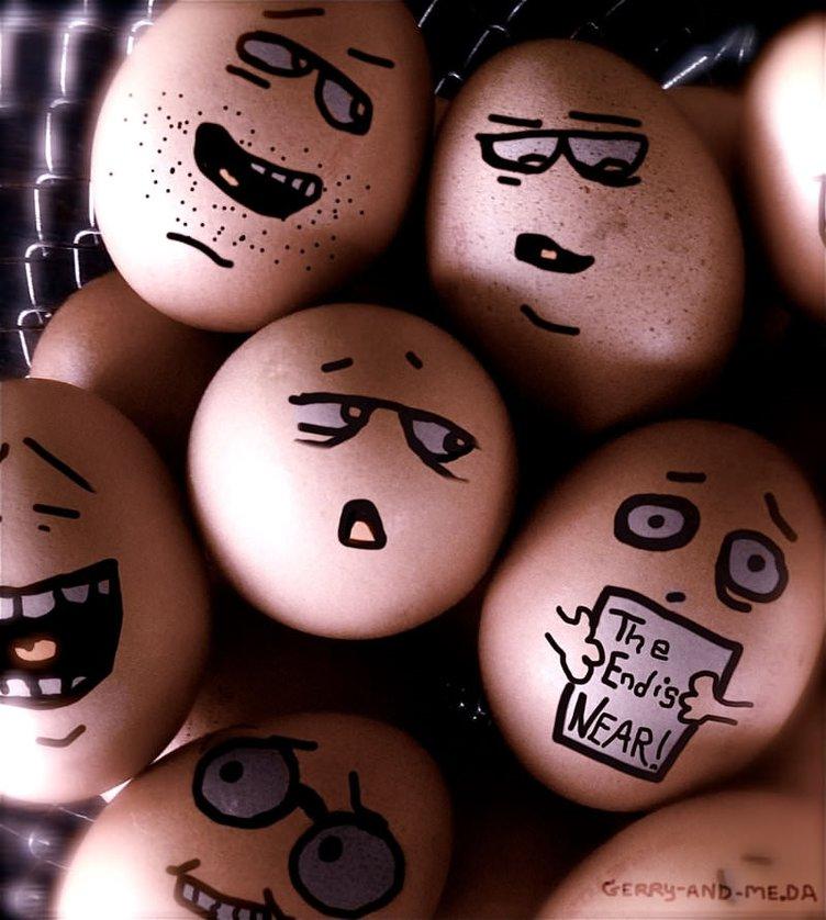 Прикольные картинки на тему яйца, именами прикольные рисунок