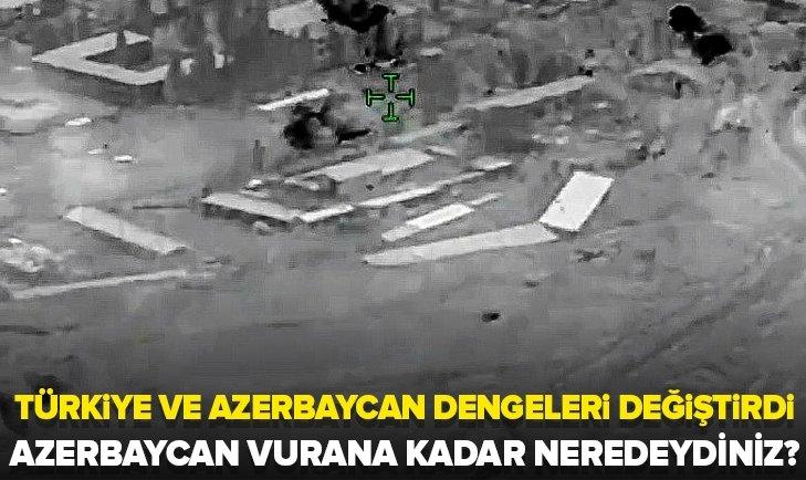 Azerbaycan vurana kadar neredeydiniz?