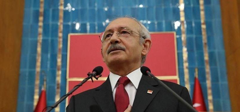 CHP'DEN SKANDALA 'İSTİFA' MAKYAJI