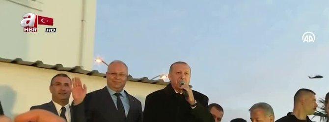Başkan Erdoğan'dan Bodrum'da sürpriz miting