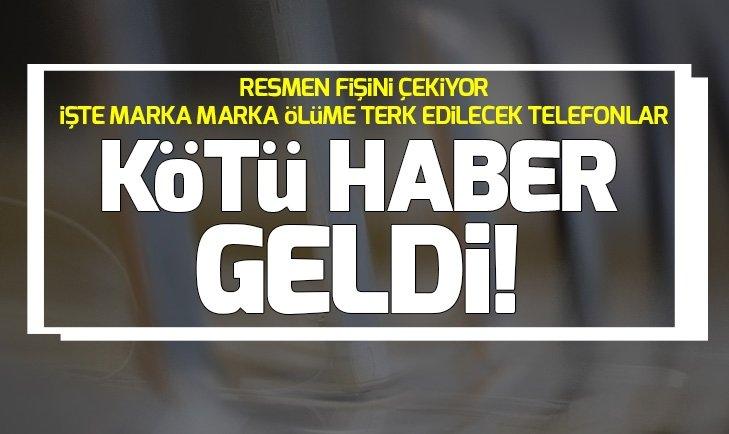 APPLE İPHONE'U ÖLÜME TERK EDİYOR