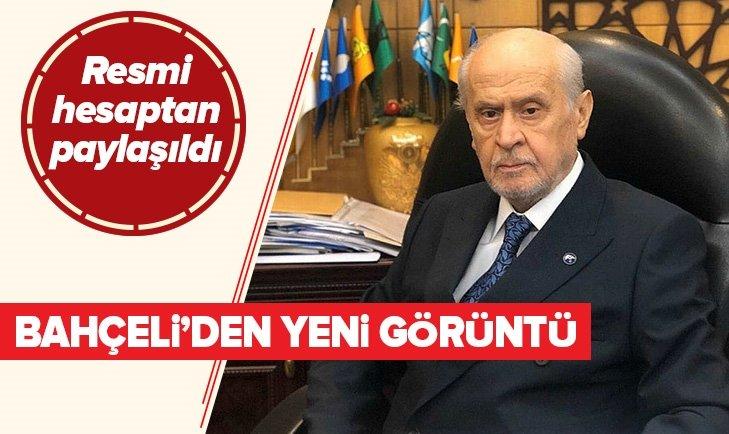 MHP RESMİ HESAPTAN PAYLAŞTI! DEVLET BAHÇELİ'DEN YENİ FOTOĞRAFLAR