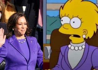 Simpsonlar ABD'deki yemin töreninde yaşananları da bildi! 20 yıl sonra gerçekleşti