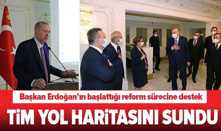 Başkan Erdoğan'ın başlattığı reform sürecine destek