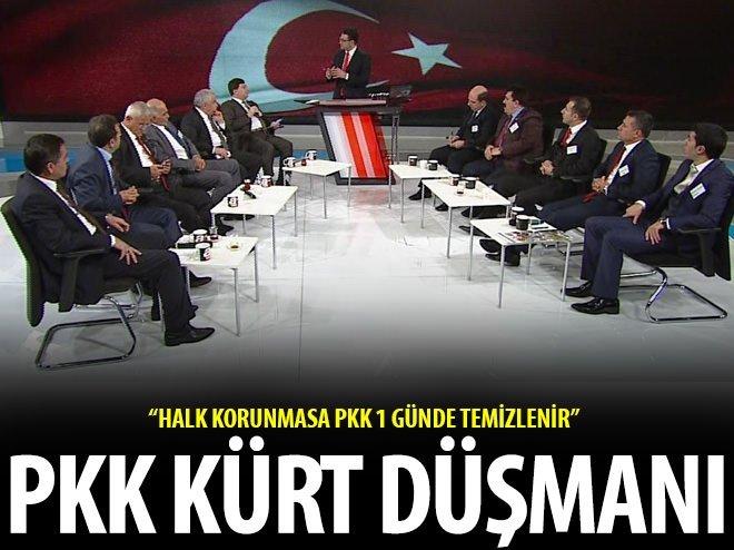 HALK KORUNMASA PKK 1 GÜNDE TEMİZLENİR