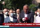 Kültür ve Turizm Bakanı Ersoy ve Ali Erbaştan Ayasofya Camii açıklaması