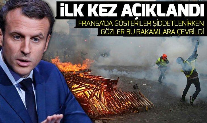 FRANSA CUMHURBAŞKANI MACRON'U DÜŞÜNDÜREN ANKET! FRANSA'DA GÖZLER YARINA ÇEVRİLDİ