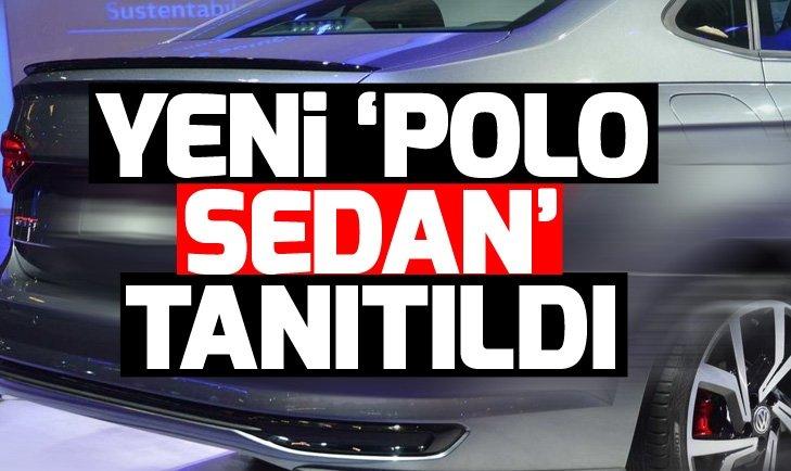 YENİ POLO GTI'IN SEDAN VERSİYONU TANITILDI