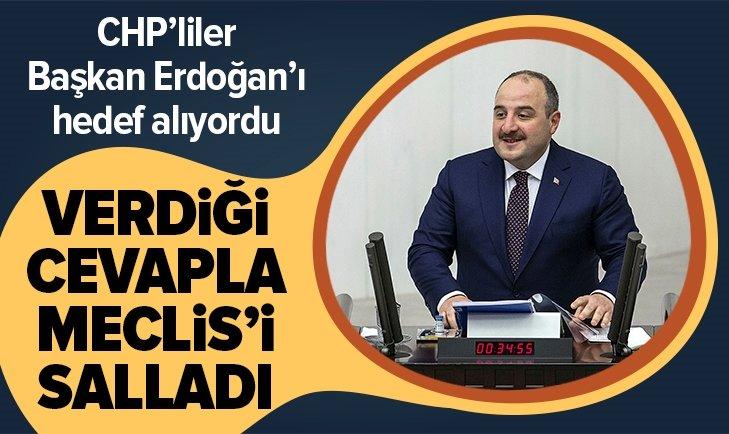 BAKAN VARANK'TAN CHP'LİLERE AYAR!