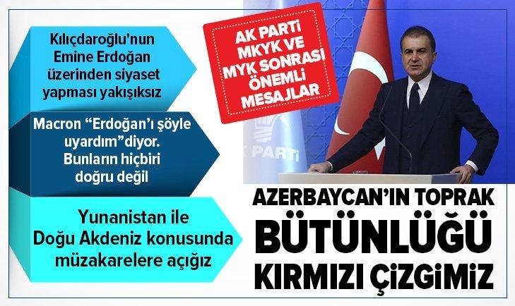 AK Parti Sözcüsü Ömer Çelik: Kılıçdaroğlu'nun siyasi polemikleri aileye taşıması son derece yakışıksız bir durum