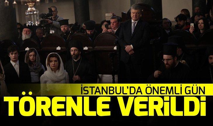 SON DAKİKA: İSTANBUL'DA ÖNEMLİ GÜN! UKRAYNA ORTODOKS KİLİSESİ'NE 'OTOSEFALİ' STATÜSÜ VERİLDİ
