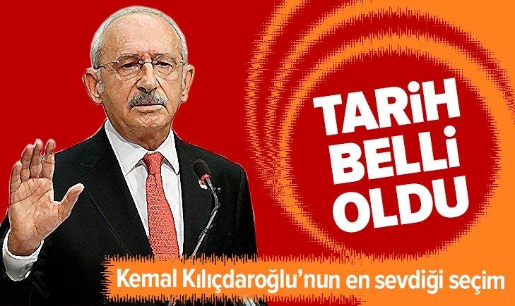 CHP'DE KURULTAY TARİHİ BELLİ OLDU