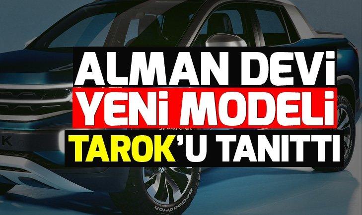 VOLKSWAGEN YENİ MODELİ TAROK'U TANITTI