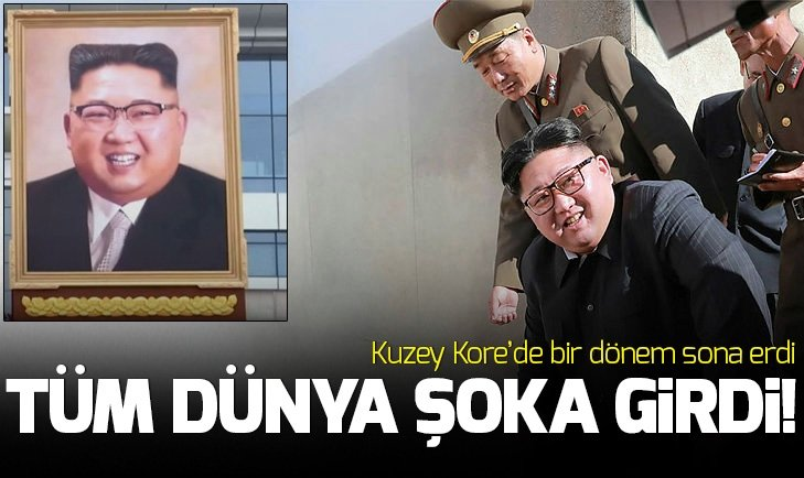 KUZEY KORE'DE BİR DEVİR SONA ERDİ!