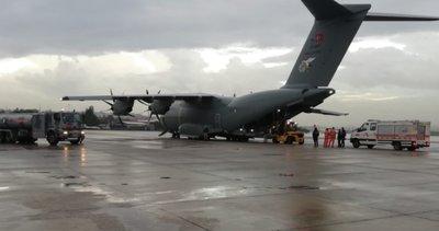 Son dakika: Milli Savunma Bakanlığı'ndan İzmir depremi kararı: TSK'ya ait uçak havalandı