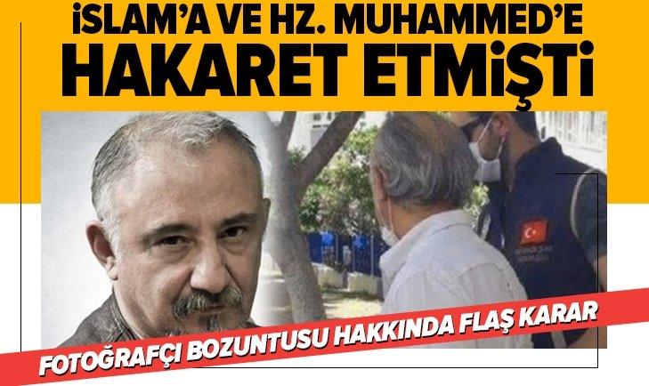 Fotoğrafçı Erez Dini Değerleri Aşağılamak suçundan tutuklandı!