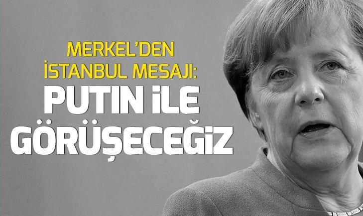 Merkel'den Erdoğan'ın da yer alacağı dörtlü zirve açıklaması