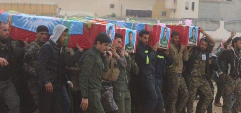 YPG'LİLER CENAZELERİNİ KALDIRMAYA DEVAM EDİYOR