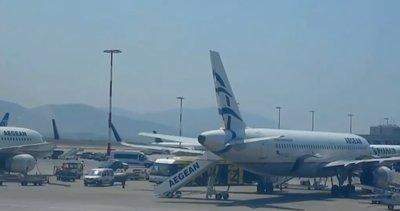 Yunanistan havalimanını satılığa çıkardı |Video