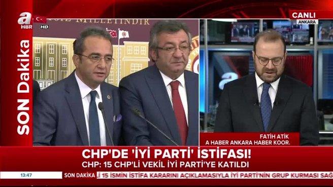 CHP'den 15 milletvekili İyi Parti'ye geçti