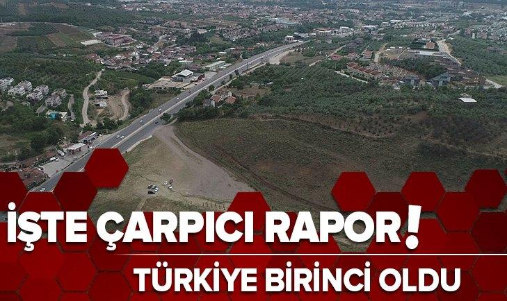 İşte çarpıcı rapor! Türkiye birinci oldu