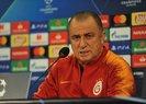 Galatasaray - PSG maçı öncesi Fatih Terim'den flaş açıklamalar