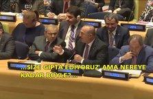Bakan Çavuşoğlu'ndan AB'ye sert eleştiri