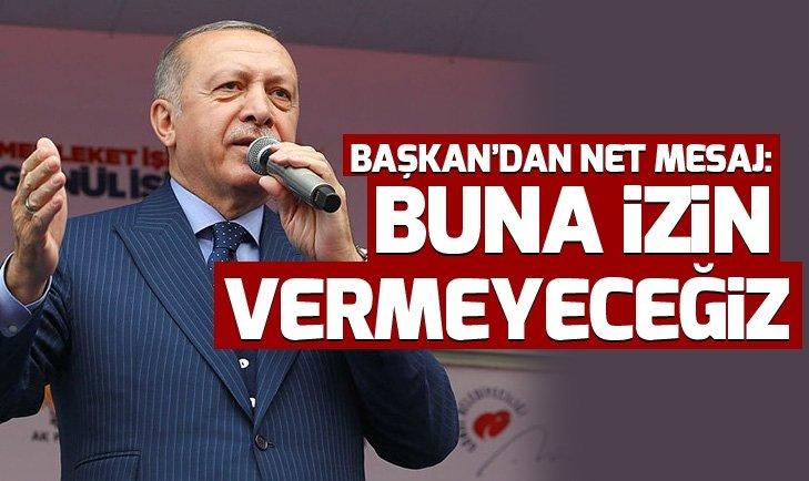 Başkan Erdoğan: PYD'nin avukatlığını yapan CHP'nin başındaki o zata rağmen...