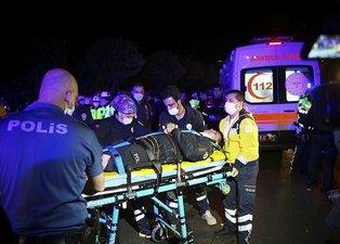 Ankara'da polis uygulaması noktasında kaza