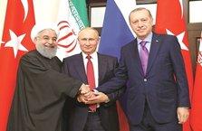 Suriye için Nisan'da üçlü zirve yapılacak!