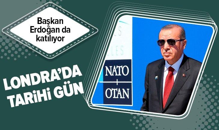 NATO zirvesi Londra'da başlıyor! Başkan Erdoğan da katılıyor...