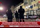 Almanyadaki saldırıda saldırganın mektupla video bıraktığı iddia edildi! |Video