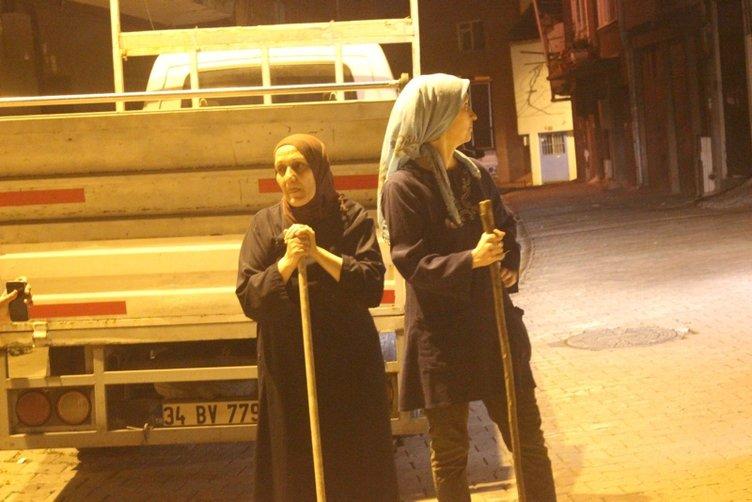 İSTANBUL'DA KORKU NÖBETİ! MAHALLELİ AYAĞA KALKTI
