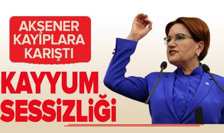 MERAL AKŞENER, HDP'Lİ BAŞKANLARIN GÖREVDEN ALINMASINA TEK KELİME EDEMEDİ