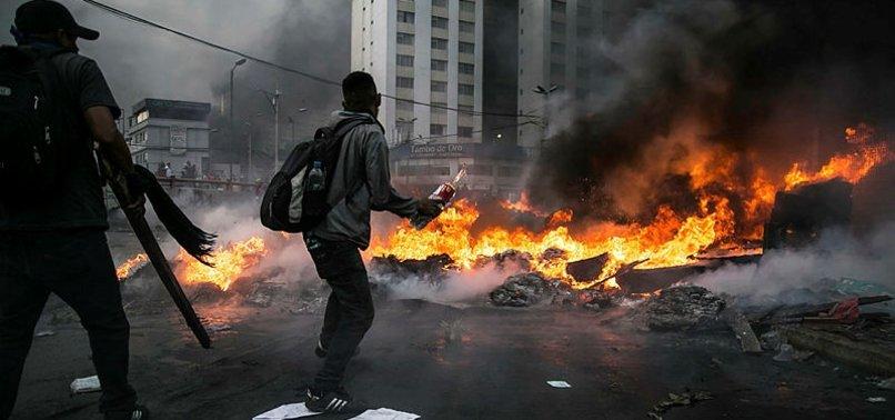 EKVADOR'DA HÜKÜMET VE PROTESTOCULAR ANLAŞTI