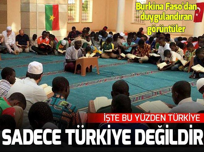 Burkina Faso'da Zeytin Dalı Harekatı için dua