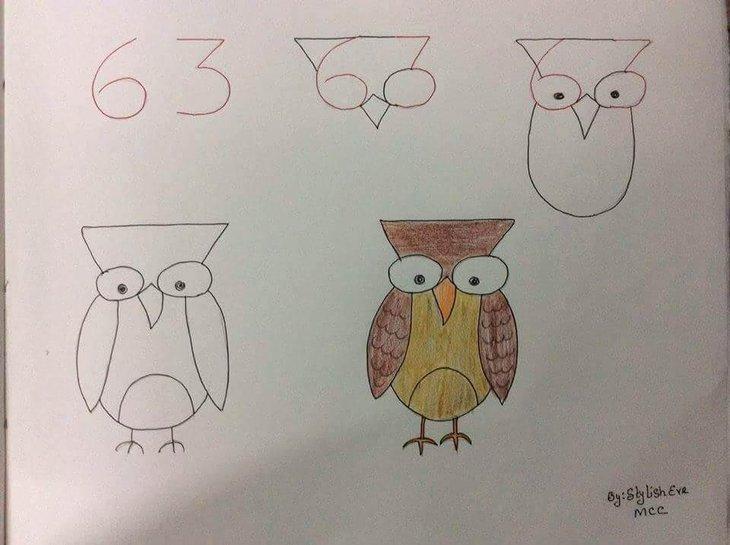 çocuklar Için Basit çizimler A Haber