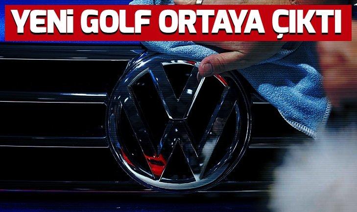 Yeni Volkswagen Golf kamuflajsız olarak ortaya çıktı