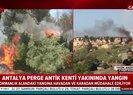 Son dakika: Antalya'da orman yangını! A Haber muhabiri canlı yayında son durumu aktardı |Video