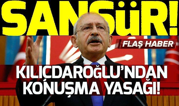 KILIÇDAROĞLU'NDAN AVANELERİNE 'HDP' YASAĞI!