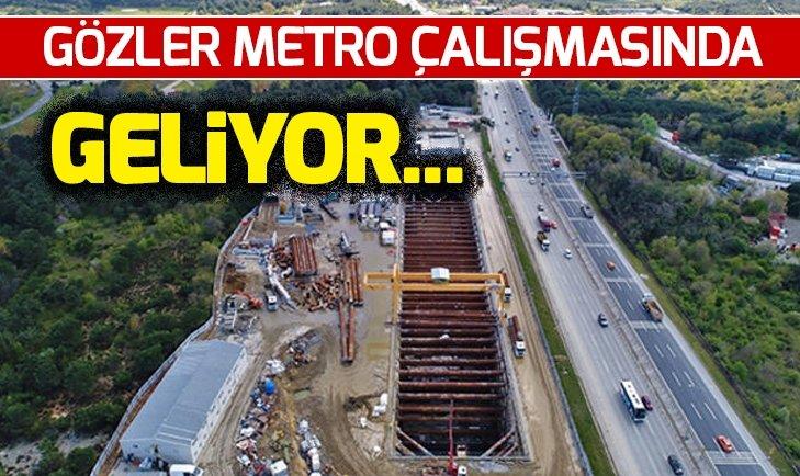 İstanbul Havalimanı - Gayrettepe Metro Hattı'nın tarihi belli oldu