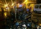 İstanbul'da yanan arabasını gören vatandaş, gözyaşlarına boğuldu | Video