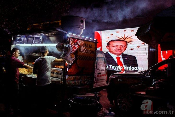 Başkan Recep Tayyip Erdoğan'a ABD'de sevgi seli