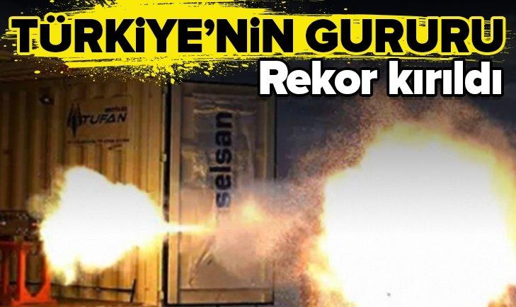 TÜRKİYE'NİN GURURU! REKOR KIRDI