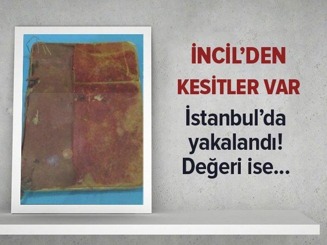 İSTANBUL'DA 400 YILLIK VAAZ KİTABI YAKALANDI