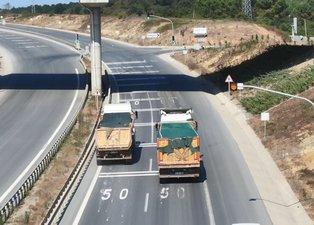 Hafriyat kamyonları tehlike saçmaya devam ediyor! İstanbul'da denizin rengi değişti