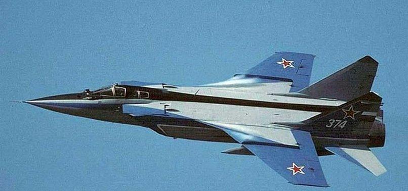 Rusya ile ABD arasında havada gerilim! MİG-31 tipi savaş uçağı...