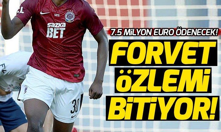 Tetteh, Galatasaray için yola çıktı!