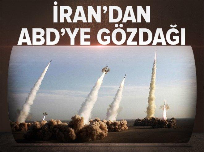 İRAN'DAN ABD'YE GÖZDAĞI