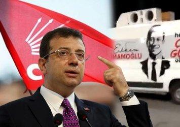 CHP'li İmamoğlu otobüsler dolusu partiliyi Esenler'e getirdi!